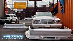 bagged mercedes s class w140 s class project