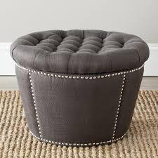 leather tufted storage ottoman ottomans grey ottoman ikea poufs amazon grey wooden bench black