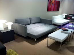 Folding Bed Sofa Living Room Blue Velvet Sectional Sleeper Sofa Queen With