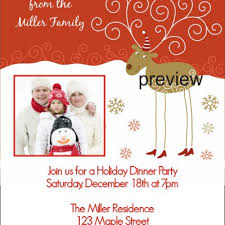 family christmas party invitation wording free printable