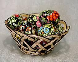 wooden easter eggs that open easter eggs etsy