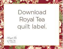 free label templates for machine embroidered quilt labels