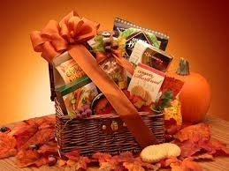 thanksgiving gift baskets fall snack chest