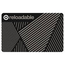 gift card self use reloadable giftcard target
