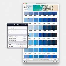 nissan blue paint code pantone color manager software with library integration