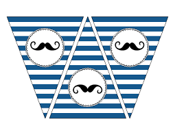 mustache banner printable mustache party paper trail design