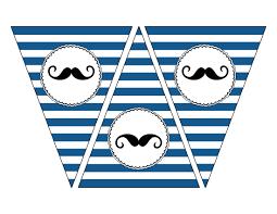 mustache invitations mustache banner printable mustache party paper trail design