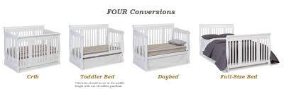 Tuscany Convertible Crib by Storkcraft Tuscany 4 In 1 Convertible Crib White Amazon Ca Baby