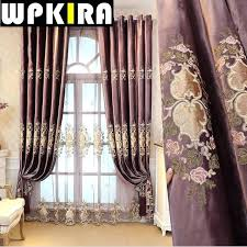 white embroidered window curtains for the bedroom fancy modern