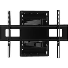 kanto recessed in wall full motion tv mount for most 46