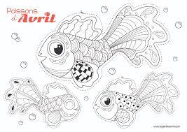 poissons d u0027avril à colorier eugénie varone
