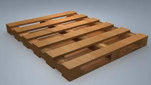 model wooden palette
