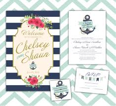 nautical themed wedding invitations nautical themed wedding invitations printing by