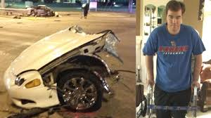 23 year old survives horrific car crash involving alleged drunk