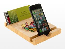 claim bamboo ipad iphone stand and desk tidy just 2000 points