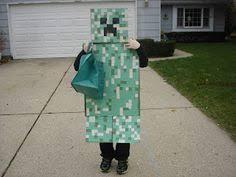 Minecraft Herobrine Halloween Costume Boys Minecraft Costumes Evening Steve Herobrine