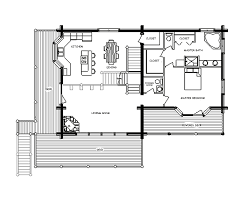 the tips to create the log cabin floor plans all home design