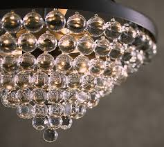 Decorating A Chandelier Callia Chandelier Pottery Barn