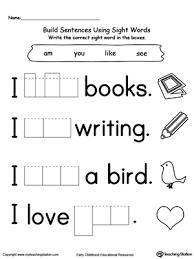 kindergarten worksheets words preschool and kindergarten worksheets printable worksheets