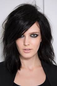 hairstyles for wavy hair low maintenance 10 low maintenance lob length cuts we love stylecaster
