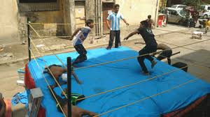 a youtube channel of mumbai youths wrestling in their gully is
