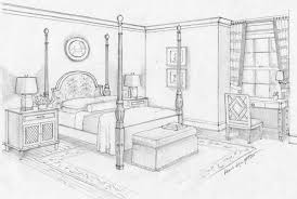 Drawing Of A Bed Drawn Bed Simple Pencil And In Color Drawn Bed Simple
