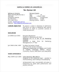 Resume For Marketing Job Best Solutions Of Sample Resume For Merchandiser Job Description