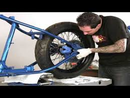 how to build a bobber chopper part 5 motorcycle build