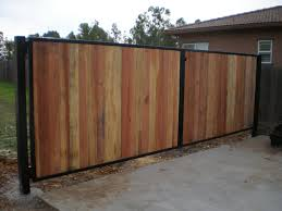 iron and wood privacy fence search fencing ideas