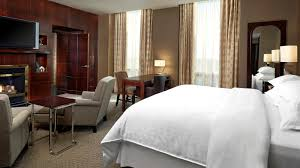 traditional hotel suite sheraton suites calgary eau claire hotel