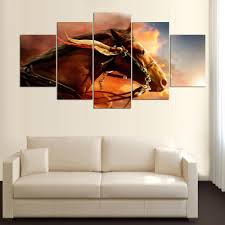 Equine Home Decor by Online Get Cheap Vintage Horse Painting Aliexpress Com Alibaba