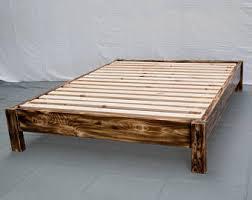 Platform Bed Modern Platform Bed Etsy