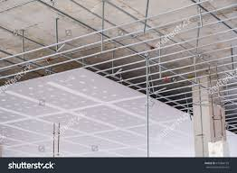 suspended ceiling structure installation ceiling gypsum stock