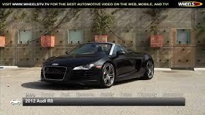 audi r8 price 2012 2012 audi r8 spyder test drive wheelstv