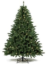 decoration ideas pre lit green slim tree with small