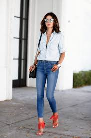 Light Blue High Waisted Jeans The Dos And Don U0027ts Of The High Waisted Jeans Just The Design