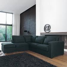 jet de canap maison du monde canape maison top maison jansen canap trois places en cuir noir