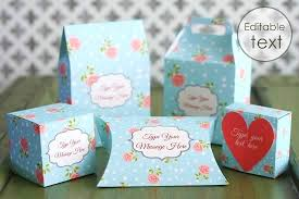 Diy Favor Box Template Printable by Free Printable Gift Box Templates Pillow Box And Others