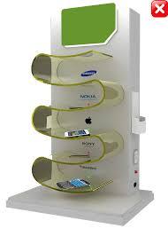 Charging Shelf Station by Industrial Charging Stations Aquix Ecotech