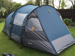 blacks grampian 4 man 2 bedroom tent with large living area and