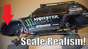 minot monster truck show rc car scale realism grc lnl fender wells for axial scx10 ii