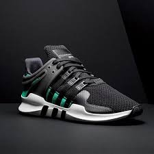 adidas eqt support adv core black sub green 2016 by