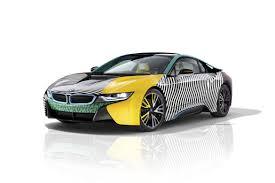 bmw i cars get a memphis design group makeover hypebeast bmw i3 i8 cars memphis design group garage italia customs