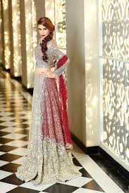 bridal collections b 2015 bridal collections in lehengas and frocks designers