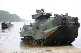 amphibious tank aav 7a1 armoured personnel carrier usa combat vehicles tracked
