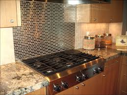kitchen faux rock panels red brick tiles white brick wall fake