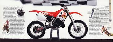 the best motocross bikes 1991 honda cr80r cr125r cr250r and cr500r brochure page 2 3