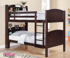 bookcase twin twin bunk bed