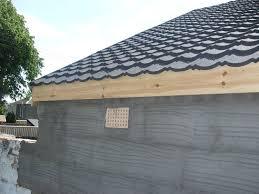 construction blog design build garage in glasgow corrugated bitumen garage roof glasgow2