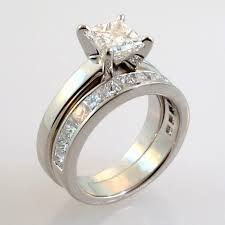 wedding band sets for him and wedding band set for him and beautiful custom wedding rings